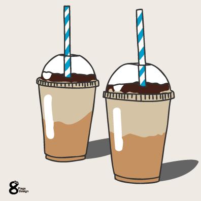 コーヒー初期イラスト