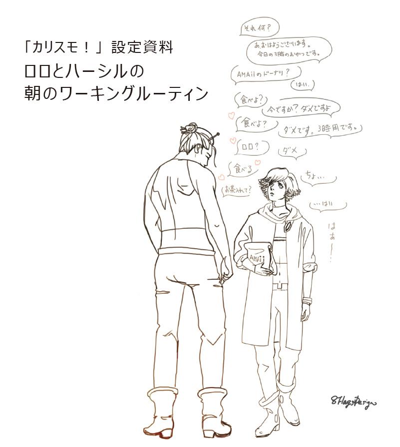 ハーシル・ロロ設定資料02