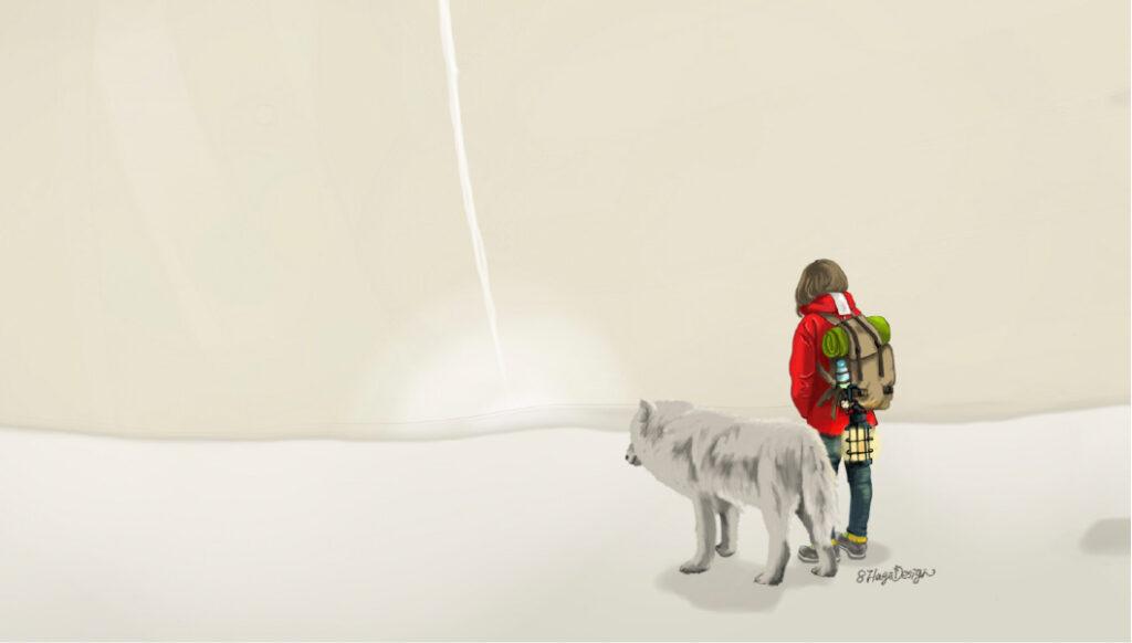 旅人と狼01