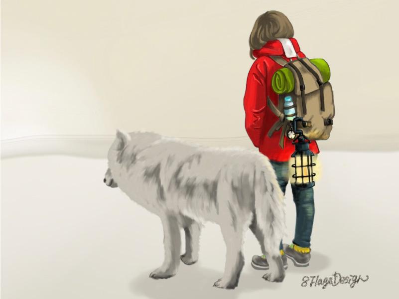 旅人と狼02
