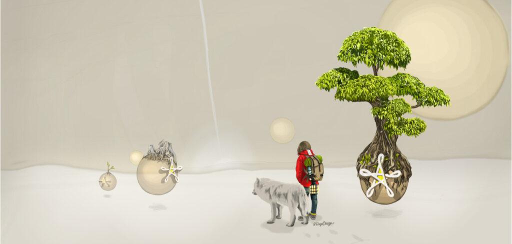 旅人と狼04